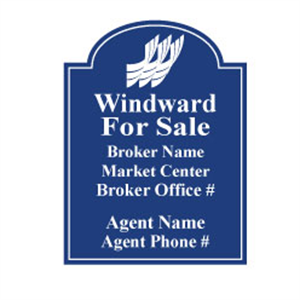 Picture of Windward Real Estate Sign